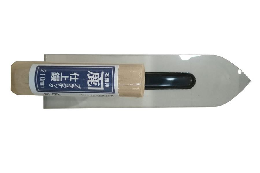 Platoir plastique pointu 210 mm briqueterie allonne dewulf enduit d'argile lisseuse