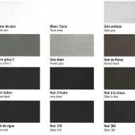 pigment ocres de france noir gris blanc