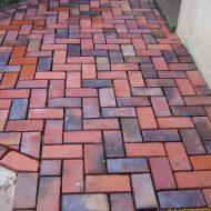 briqueterie allonne dewulf brique pavage sol exterieur rouge flammé ancienne ferme trottoir terrasse