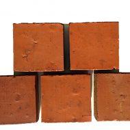 briqueterie allonne dewulf pavé carré terrasse trottoir sol exterieur rouge flammé
