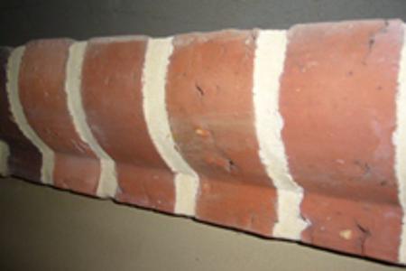 briqueterie dewulf allonne terre cuite corniche