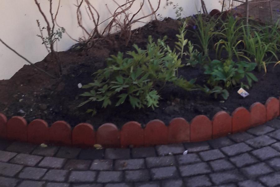 briqueterie dewulf allonne bordure de jardin rouge nuance