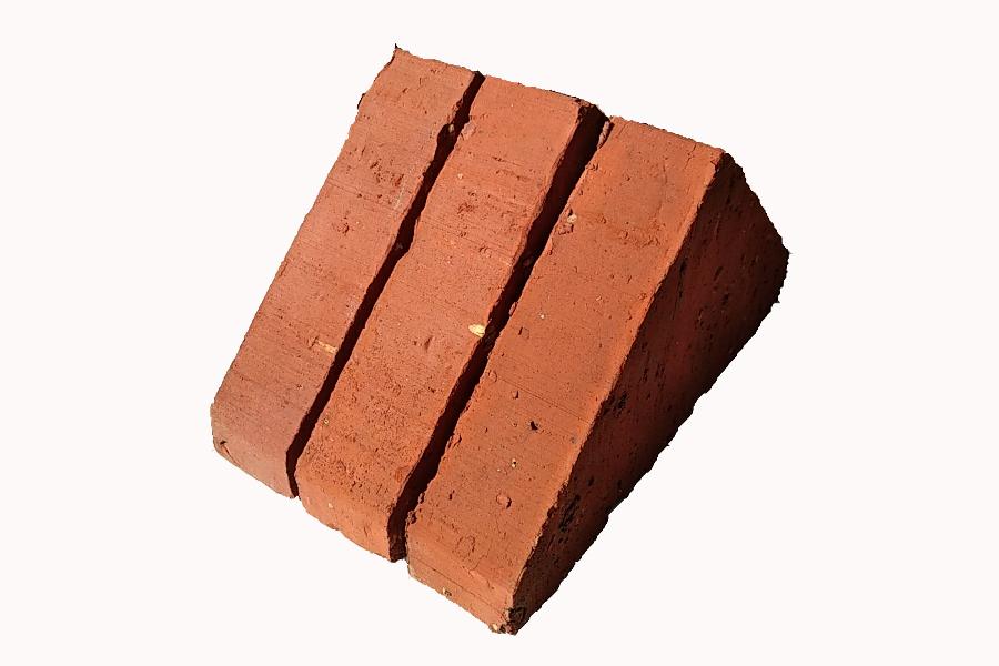 briqueterie dewulf allonne terre cuite chapeau de mur double pente