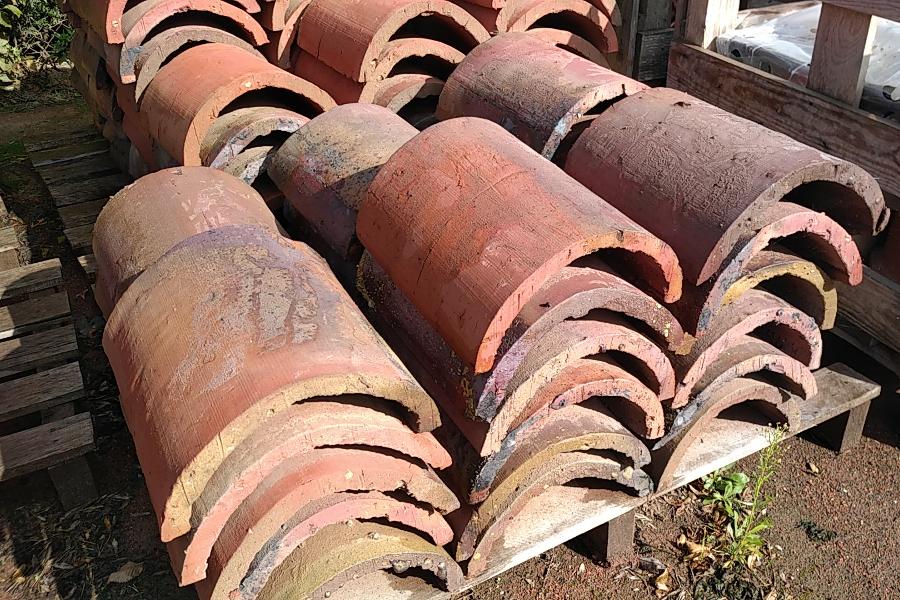 briqueterie dewulf allonne faitiere terre cuite