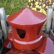 briqueterie dewulf allonne terre cuite lanterne mitron emaillé